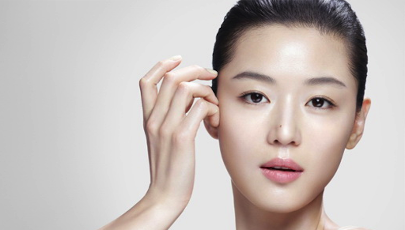 glass skin korean