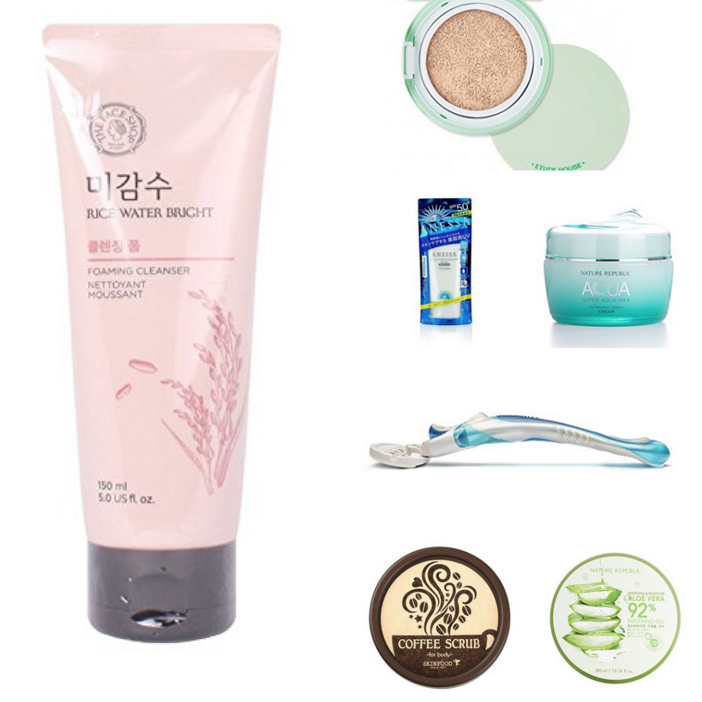 Best Asian Products to prep your Skin on Summer