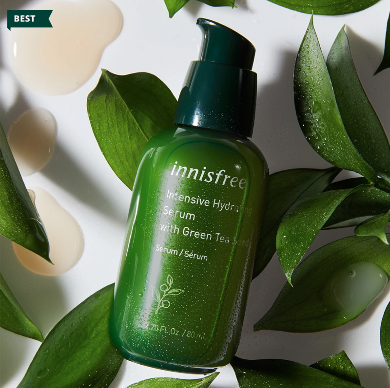 InnisFree Green Tea Serum Review