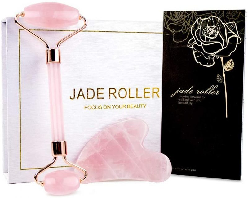 Baimei Rose Quartz Roller